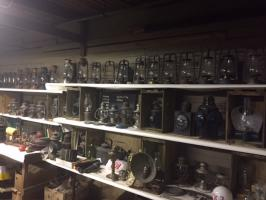 ANTIQUE LANTERNS AND ADVERTISING AUCTION